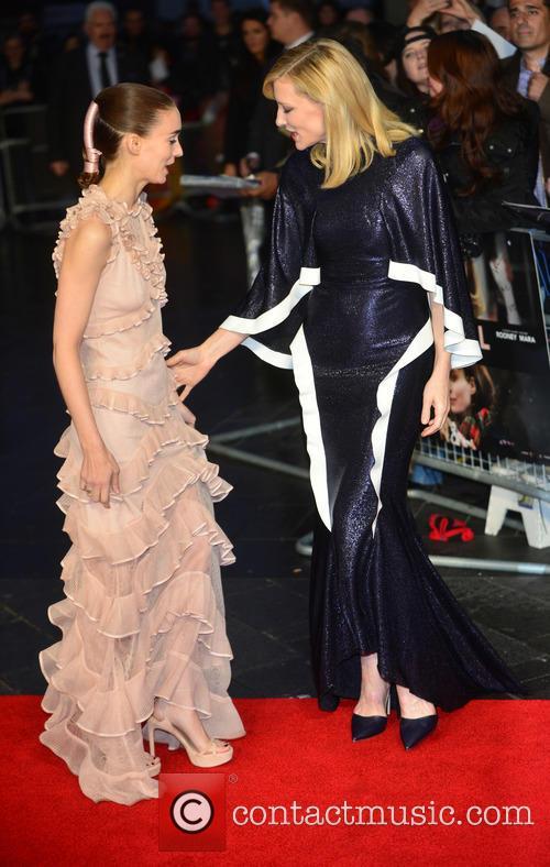 Rooney Mara, Cate Blanchettrooney Mara and Cate Blanchett 1