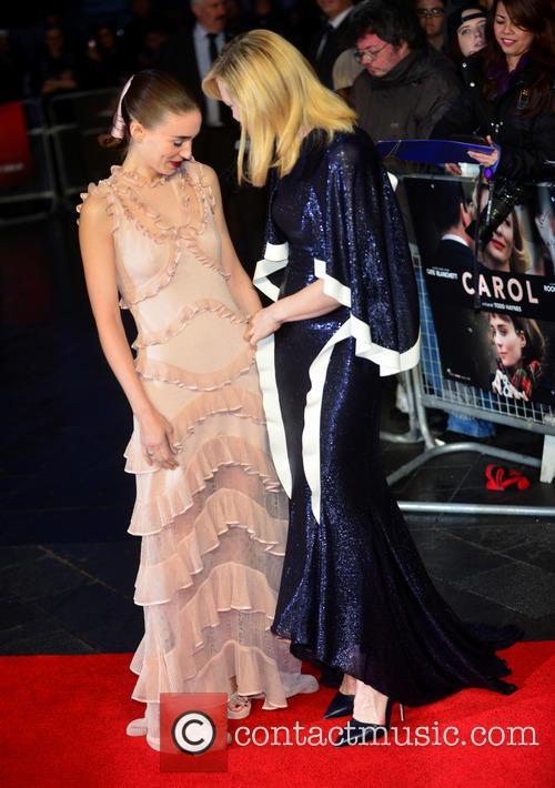 Rooney Mara and Cate Blanchett 2