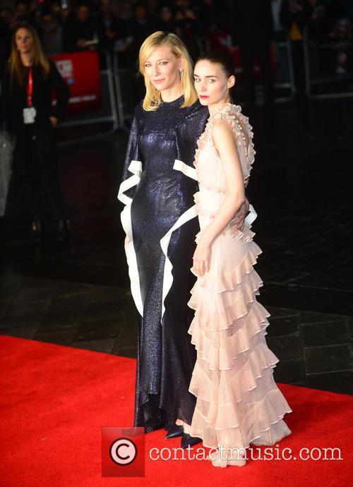 Rooney Mara and Cate Blanchett 7