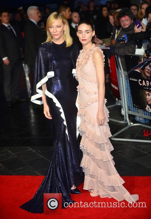 Rooney Mara and Cate Blanchett 8