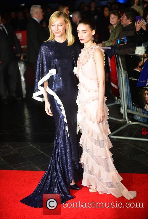 Rooney Mara and Cate Blanchett 9