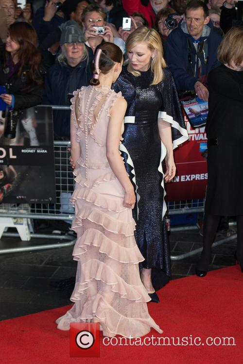 Rooney Mara and Cate Blanchett 2