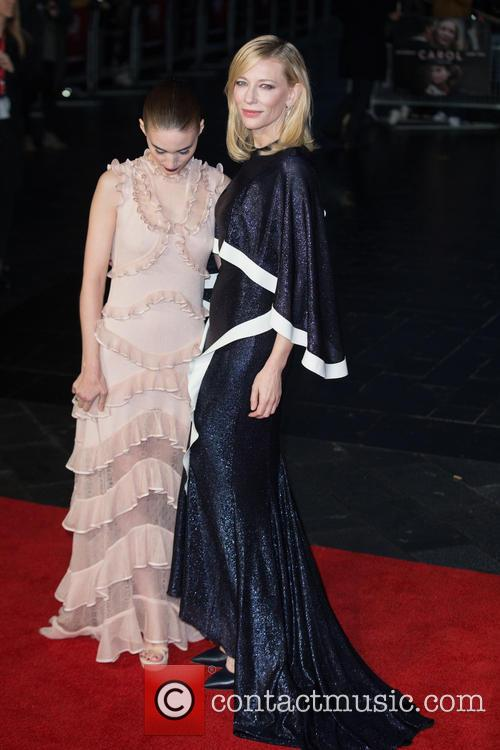 Rooney Mara and Cate Blanchett 5