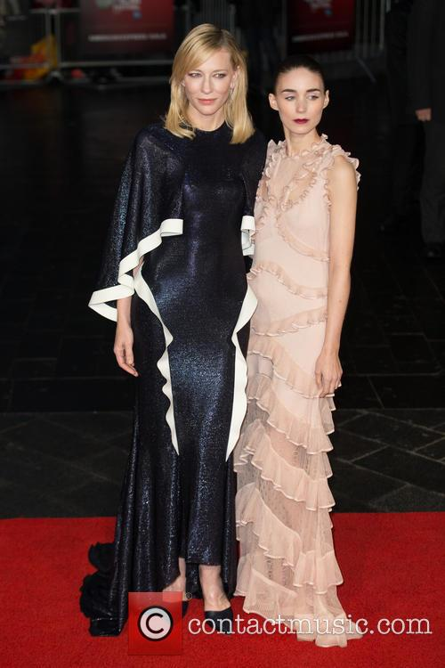 Rooney Mara and Cate Blanchett 8
