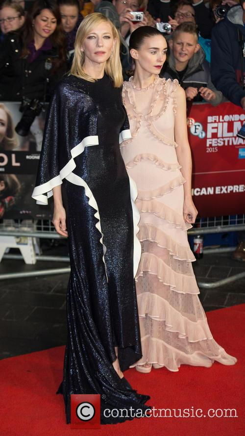 Rooney Mara and Cate Blanchett 11