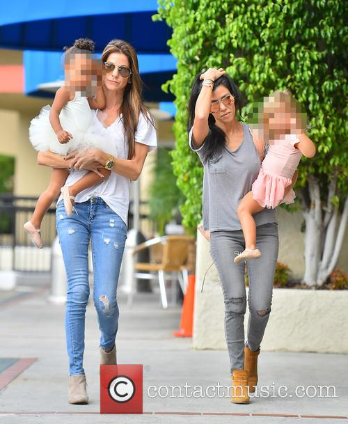 Kourtney Kardashian, North West and Penelope Disick 1