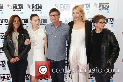 Cate Blanchett, Rooney Mara, Todd Haynes, Phyllis Nagy and Elizabeth Karlsen 1