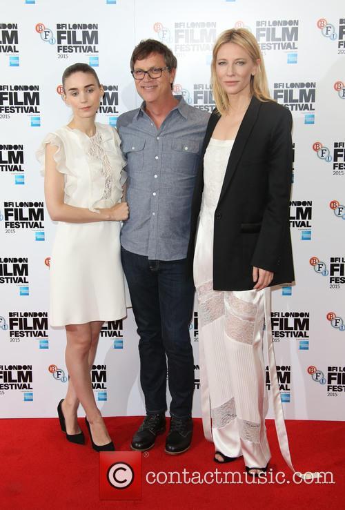 Cate Blanchett, Rooney Mara and Todd Haynes 1