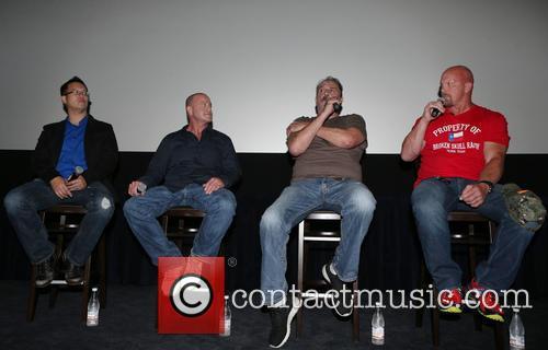 Steve Yu, Christopher Bell, Jake Roberts, Jake The Snake and Stone Cold Steve Austin 2