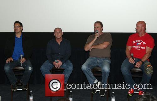 Steve Yu, Christopher Bell, Jake Roberts, Jake The Snake and Stone Cold Steve Austin 4