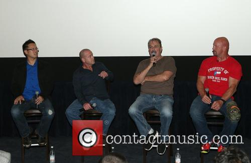 Steve Yu, Christopher Bell, Jake Roberts, Jake The Snake and Stone Cold Steve Austin 5