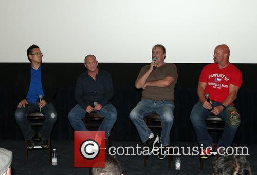 Steve Yu, Christopher Bell, Jake Roberts, Jake The Snake and Stone Cold Steve Austin 1