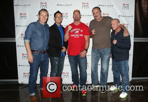 Steve Yu, Stone Cold Steve Austin, Jake Roberts, Jake The Snake and Christopher Bell 2