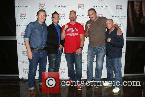 Steve Yu, Stone Cold Steve Austin, Jake Roberts, Jake The Snake and Christopher Bell 3