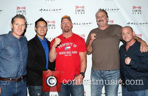 Steve Yu, Stone Cold Steve Austin, Jake Roberts, Jake The Snake and Christopher Bell 4