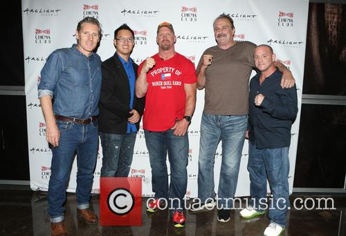 Steve Yu, Stone Cold Steve Austin, Jake Roberts, Jake The Snake and Christopher Bell 1