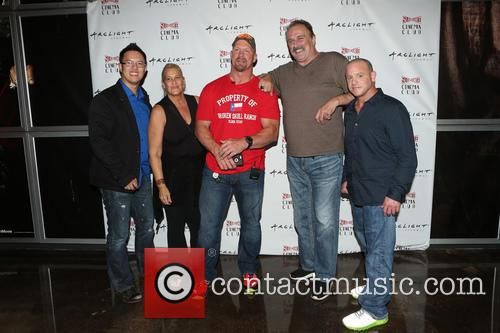 Steve Yu, Kim Dixon, Stone Cold Steve Austin, Jake Roberts, Jake The Snake and Christopher Bell 2