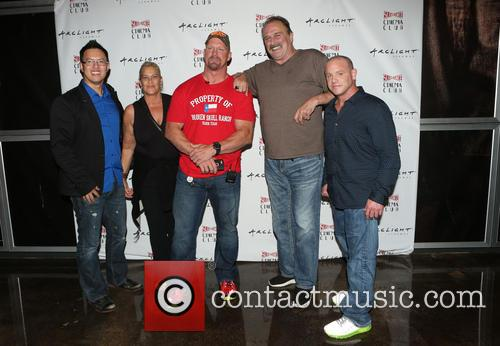 Steve Yu, Kim Dixon, Stone Cold Steve Austin, Jake Roberts, Jake The Snake and Christopher Bell 3