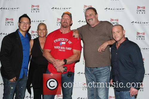 Steve Yu, Kim Dixon, Stone Cold Steve Austin, Jake Roberts, Jake The Snake and Christopher Bell 4