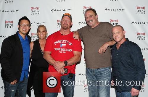 Steve Yu, Kim Dixon, Stone Cold Steve Austin, Jake Roberts, Jake The Snake and Christopher Bell 1