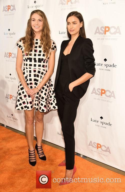Sutton Foster and Irina Shayk 2