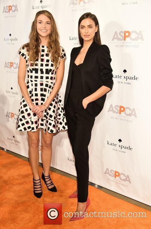 Sutton Foster and Irina Shayk 1