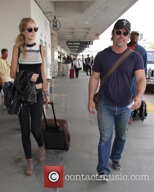 Josh Brolin and Kathryn Boyd 2