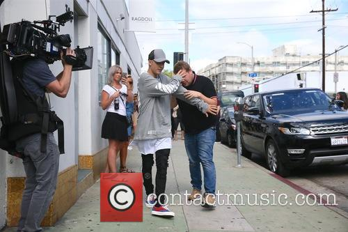 Justin Bieber and James Corden 8