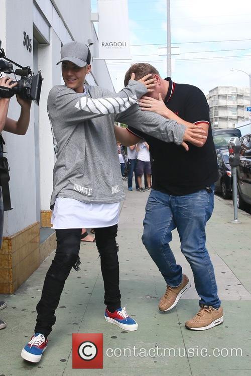 Justin Bieber and James Corden 9