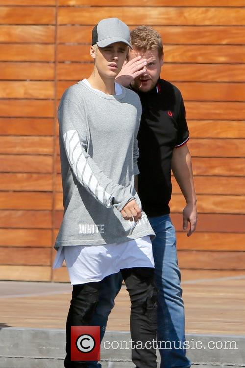 Justin Bieber and James Corden 8