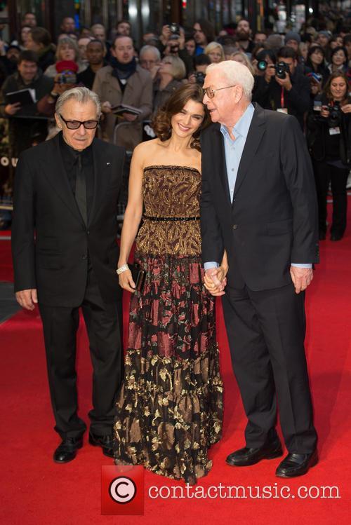 Sir Michael Caine, Rachel Weisz and Harvey Keitel 3
