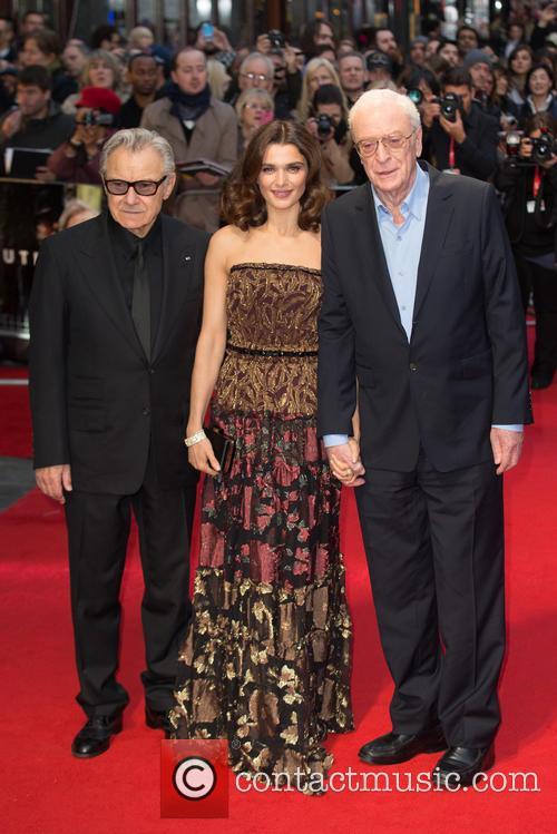Sir Michael Caine, Rachel Weisz and Harvey Keitel 4