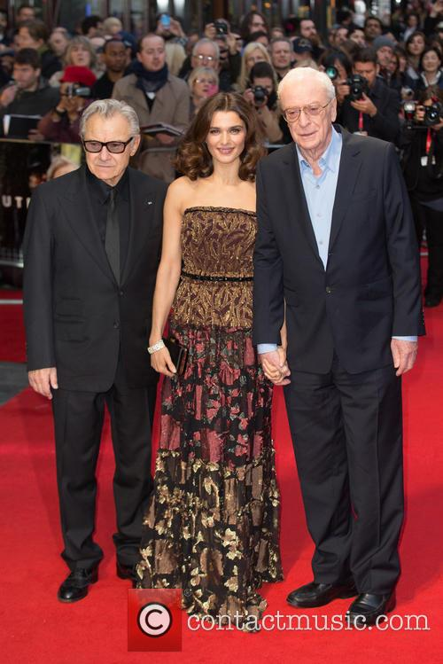 Sir Michael Caine, Rachel Weisz and Harvey Keitel 5