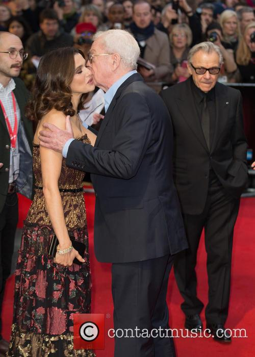 Sir Michael Caine, Rachel Weisz and Harvey Keitel