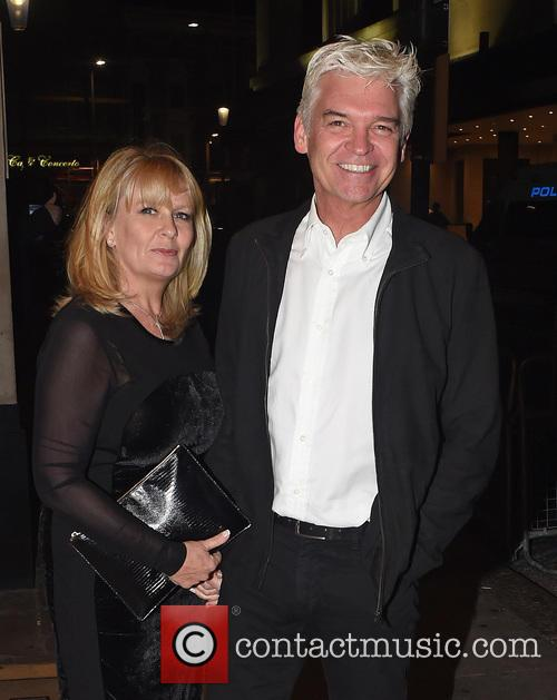 Phillip Schofield and Stephanie Schofield 1