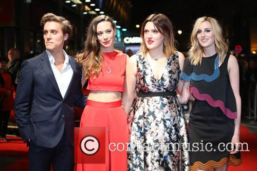 Jack Farthing, Chloe Pirrie, Chanya Button and Laura Carmichael 2