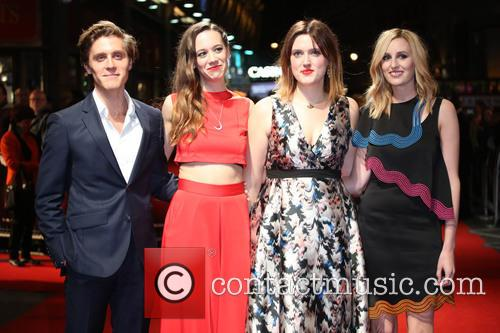 Jack Farthing, Chloe Pirrie, Chanya Button and Laura Carmichael 1