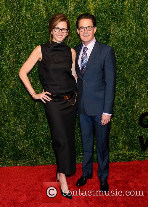 Desiree Gruber and Kyle Maclachlan 1