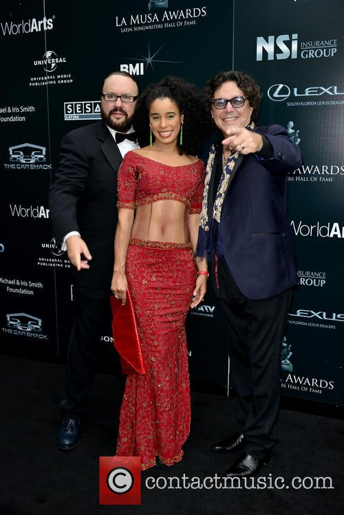 Desmond Child, Fatima and Rudy Perez 2