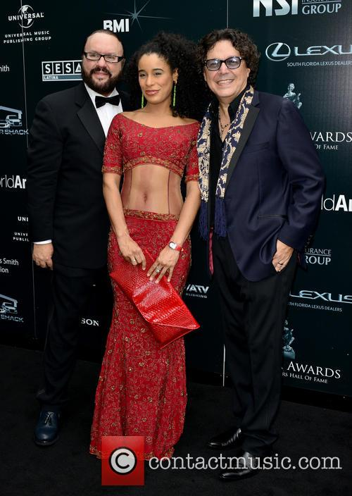 Desmond Child, Fatima and Rudy Perez 1