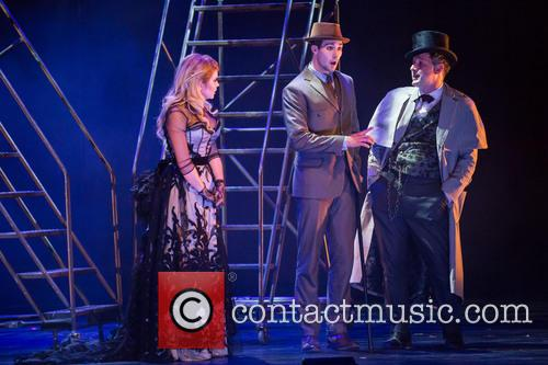 Renee Olstead, James Maslow and David Arquette 1