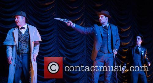 David Arquette, James Maslow and Patrick Costello 1