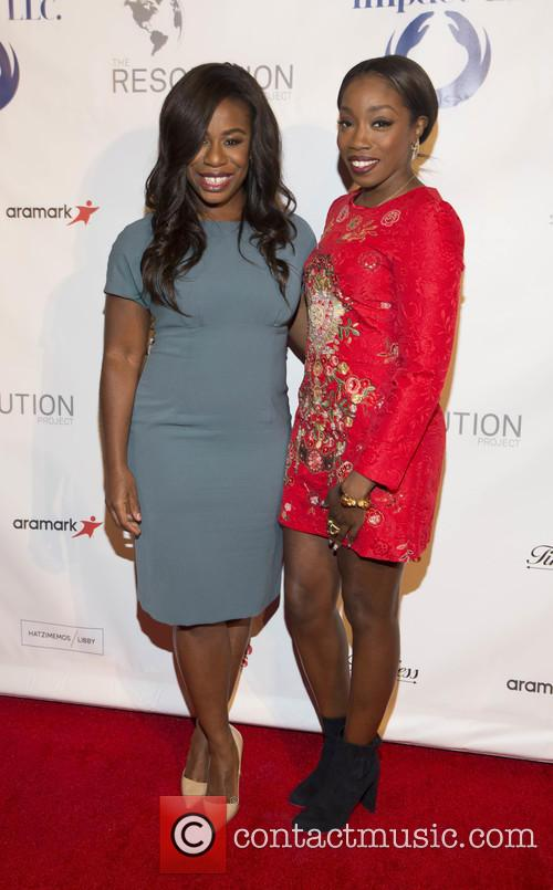 Uzo Aduba and Estelle 1