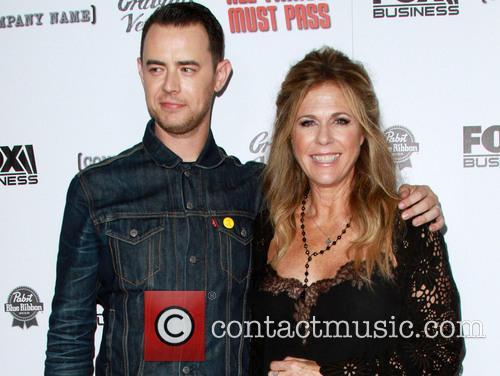 Colin Hanks and Rita Wilson 4