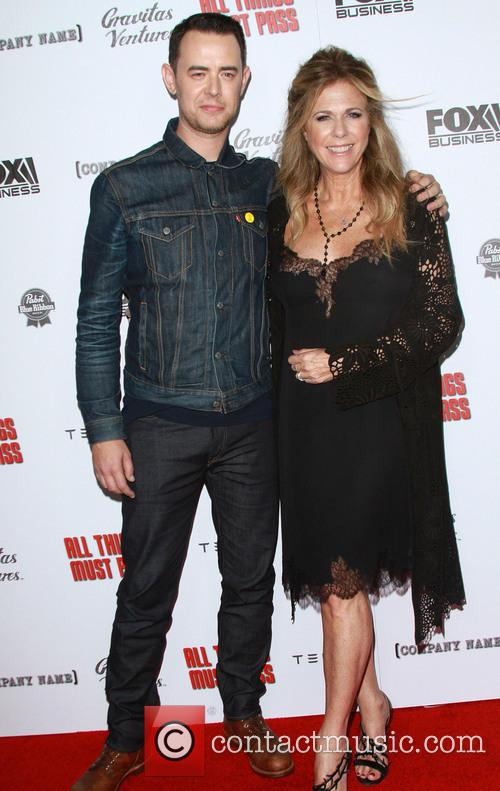 Colin Hanks and Rita Wilson 7