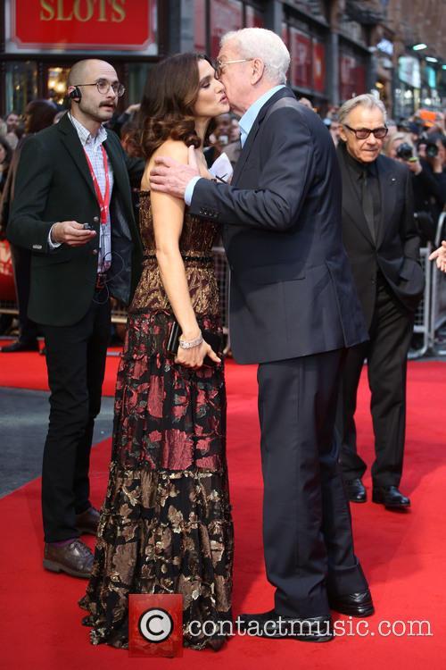 Rachel Weisz and Michael Caine 2