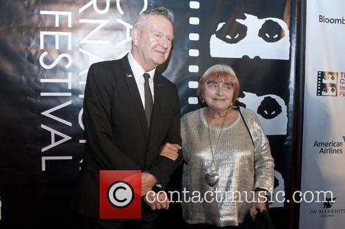 Michael Kutza and Agnes Varda 1