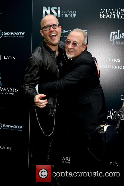 Gianmore and Emilio Estefan 2