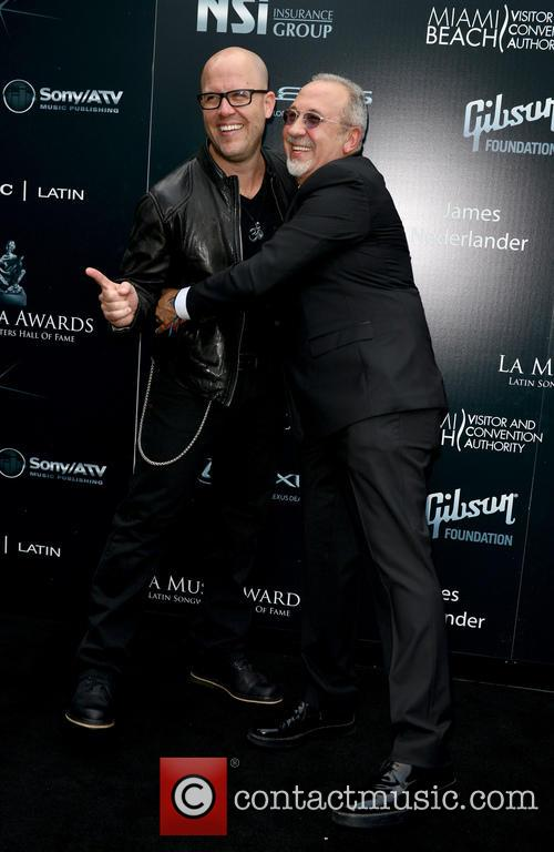 Gianmore and Emilio Estefan 1