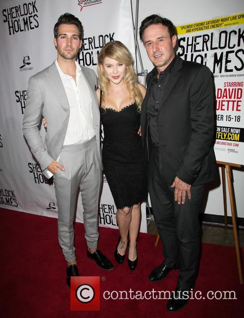 James Maslow, Renee Olstead and David Arquette 2